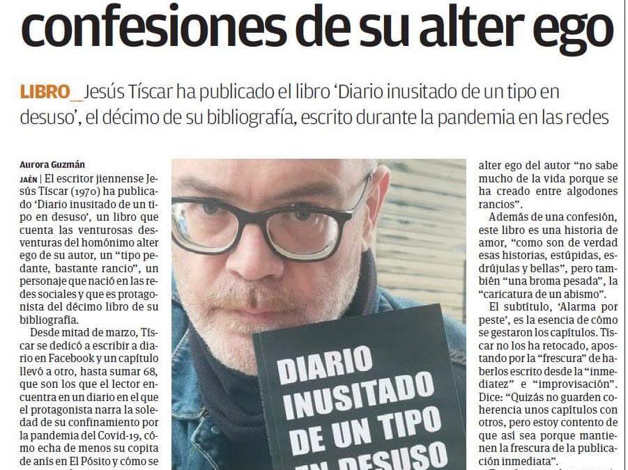 MAGAZINE: «Tíscar engancha con las confesiones de su alter ego»