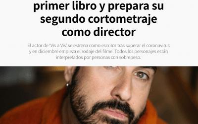EL CONFIDENCIAL DIGITAL: «Alberto Velasco publica su primer libro y prepara su segundo cortometraje como director»